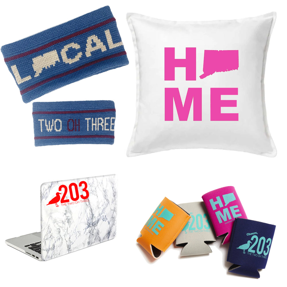Valentine's HOME Bundle (Pillow, Knit Ear Warmers, Decal, Koozie, Candy)