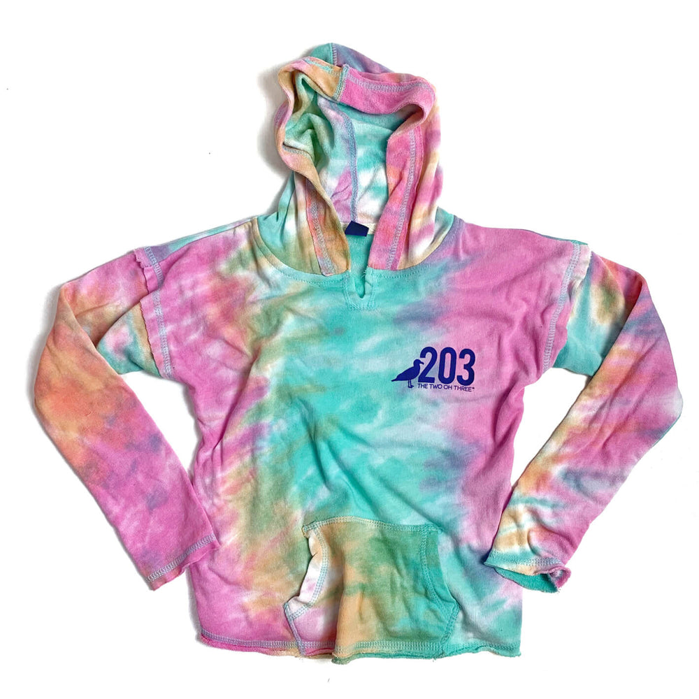 Youth Tie-Dye Hoodie - The Two Oh Three