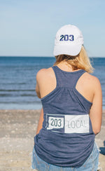 Lady's 203 Local Racerback Tank - The Two Oh Three
