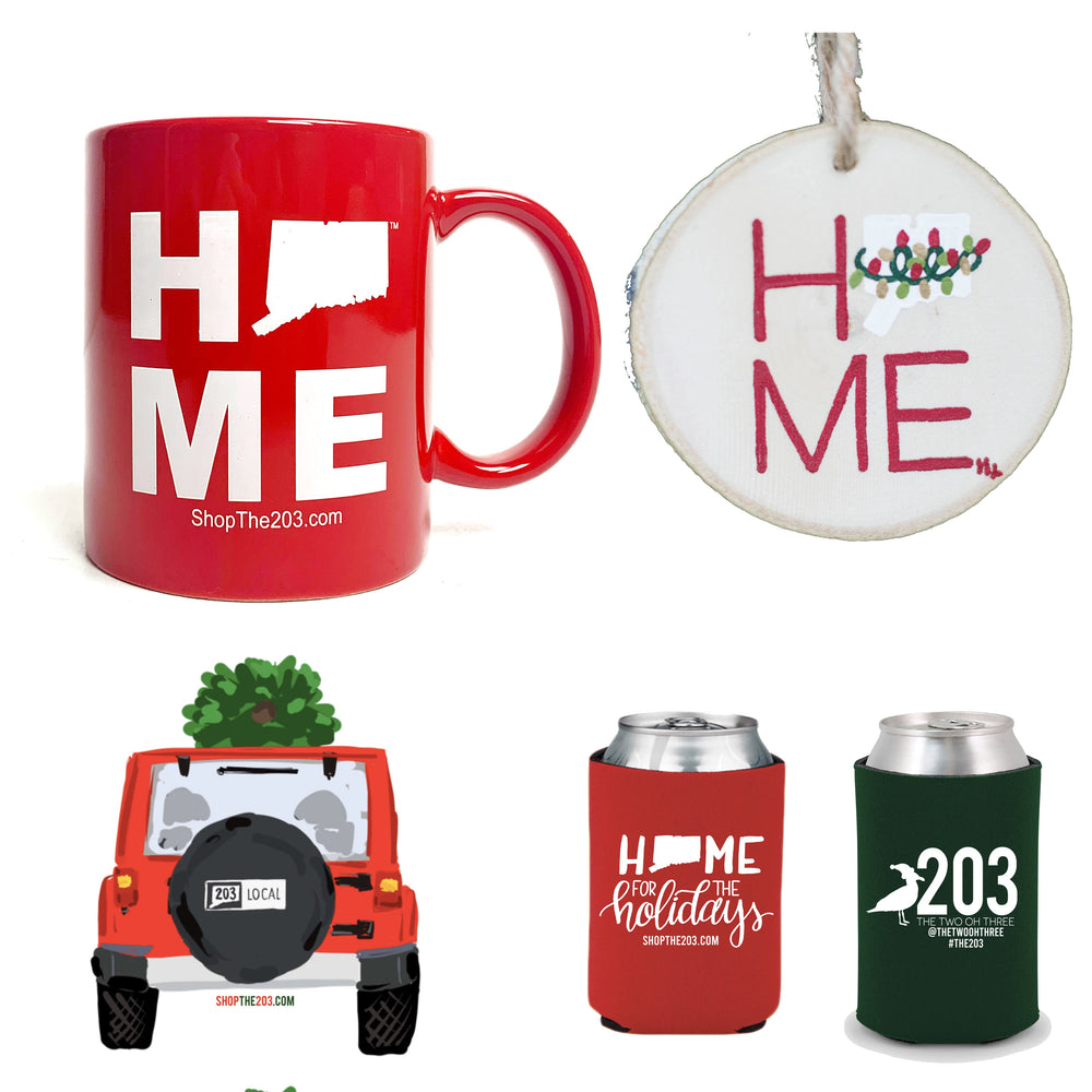 Wooden Ornament, Diner Mug, Holiday Koozie & Jeep Sticker