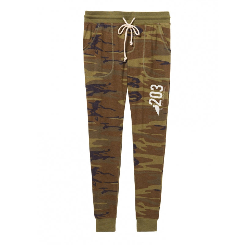Camo Jersey Joggers (Lightweight) - The Two Oh Three