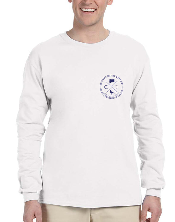 Classic Connecticut Long Sleeve T-Shirt - The Two Oh Three