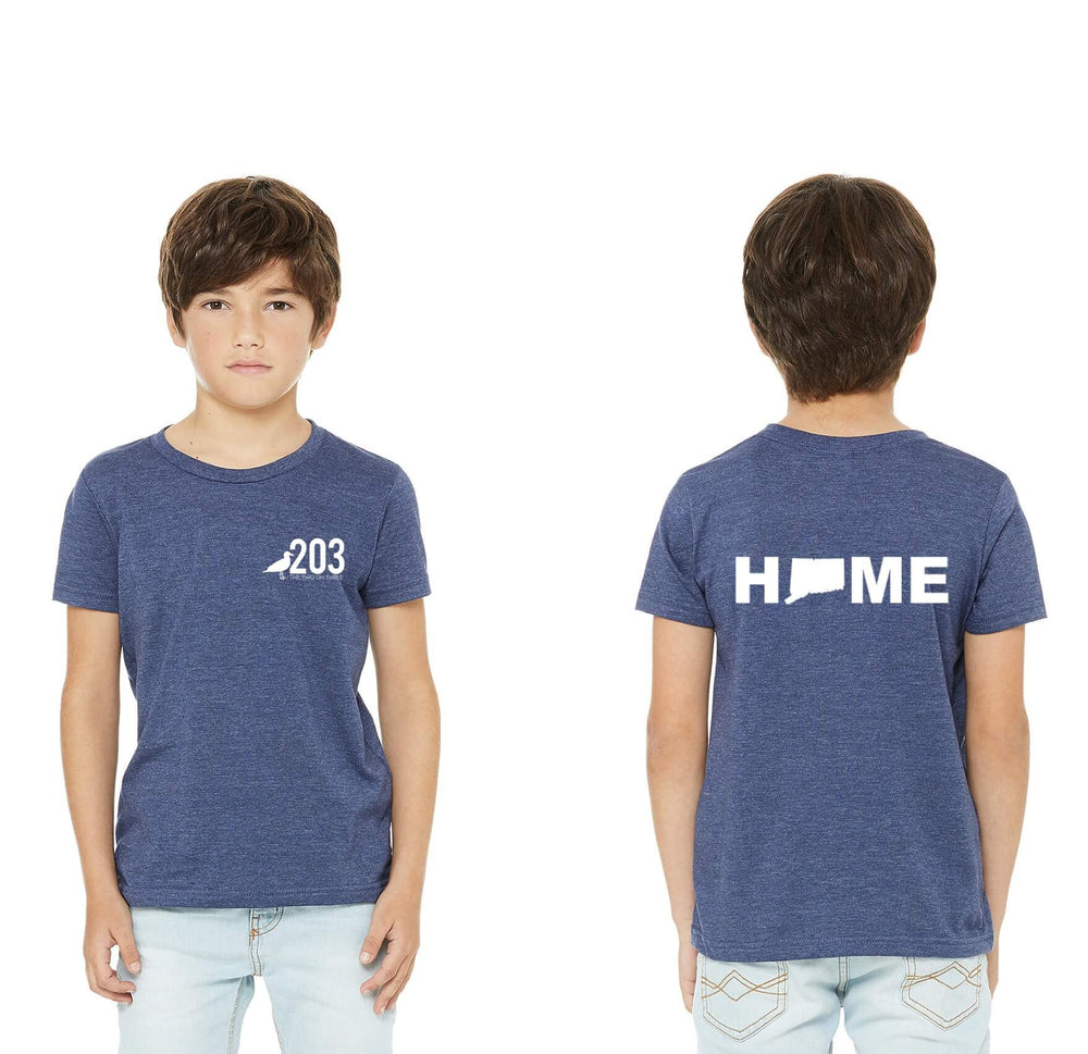 Youth Heathered HOME Tee