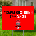 Capalbo Strong X 203 YARD SIGN