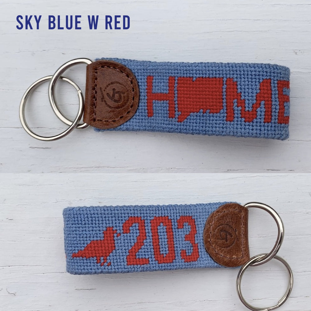 203 Needle-Point Key Chains - The Two Oh Three