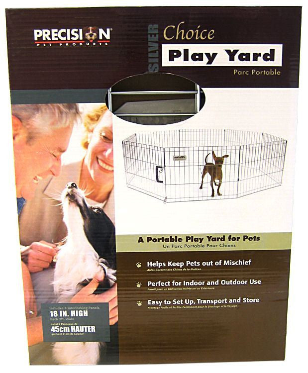 Precision Pet Silver Choice Exercise Pen Model SXP