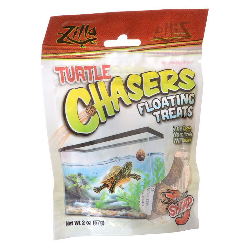 Zilla Turtle Chasers Floating Treats - Shrimp 2oz