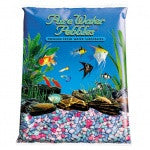Pure Water Pebbles Aquarium Gravel - Rainbow Frost 5 lbs