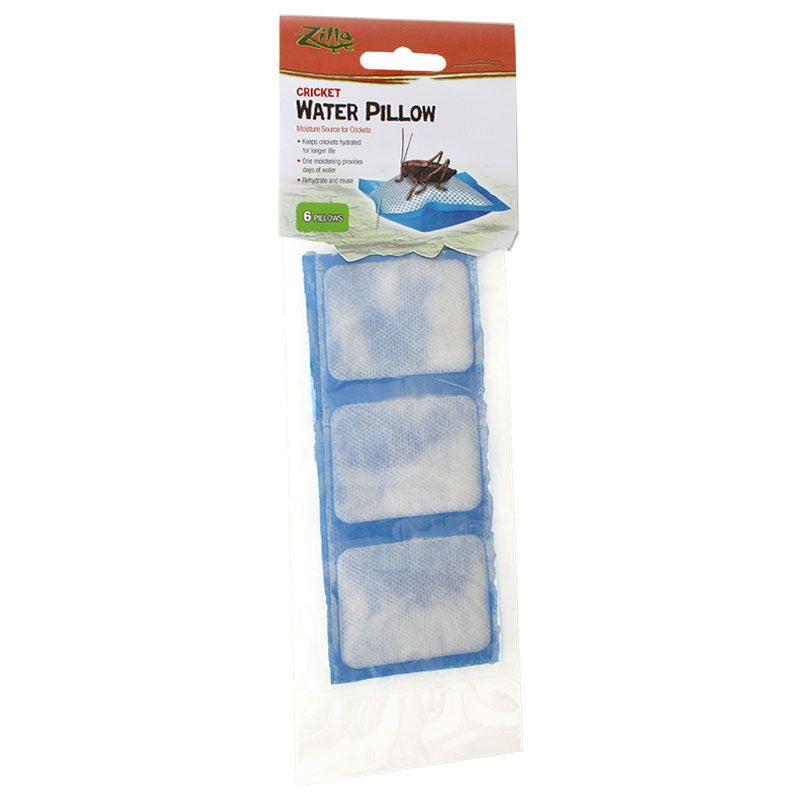Zilla Cricket Water Pillows 6 pack
