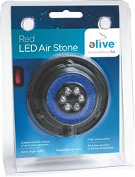 Elive LED Air Stone - Red