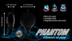 Cobalt Phantom Ultrasonic Air Pump