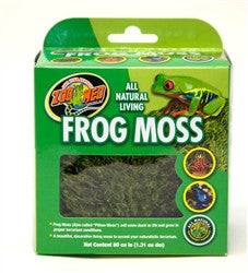 Zoo Med All Natural Frog Moss 80 CU In