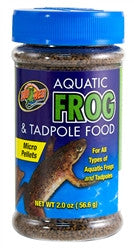 ZooMed Aquatic Frog & Tadpole Food 2 oz