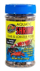 ZooMed Aquatic Shrimp, Crab & Crayfish Food 2.5 oz