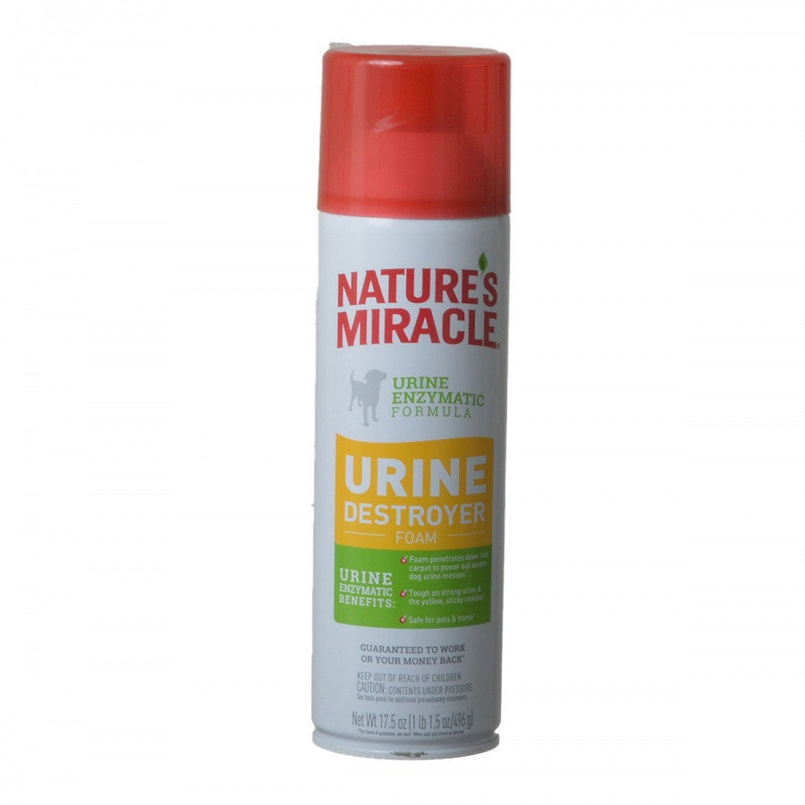 Nature's Miracle Enzymatic Urine Destroyer Foam