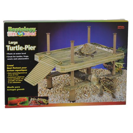 Reptology Large Floating Turtle Pier