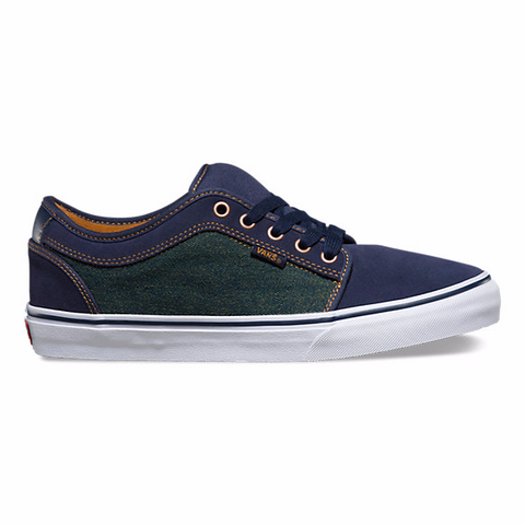 VANS CHUKKA LOW (DENIM) NAVY/BRONZE