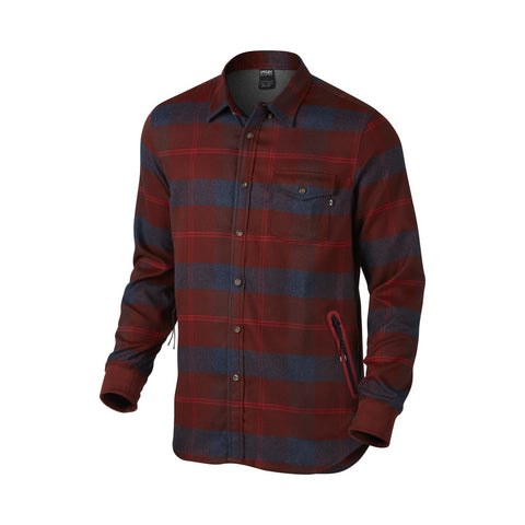 OAKLEY FP DWR FLANNEL - FIRED BRICK