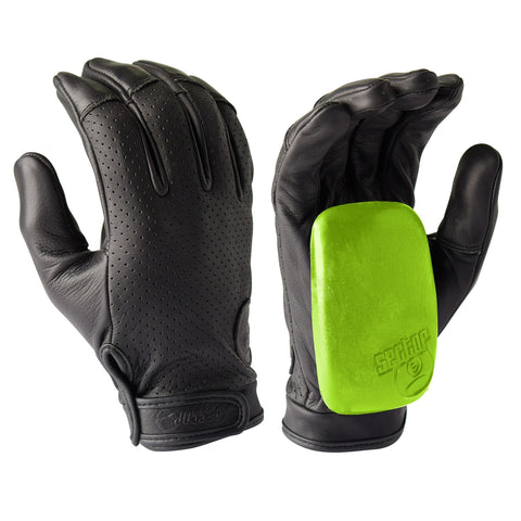 SECTOR9 DRIVER II SLIDE GLOVES - BLACK