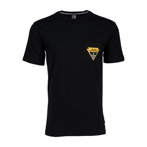 VOLCOM APPOINTED SS TEE - BLACK