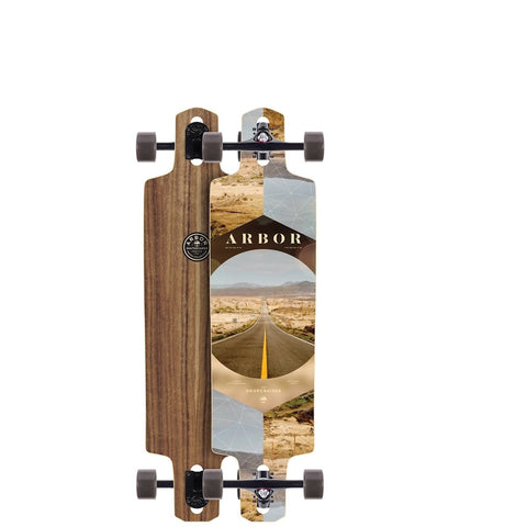 ARBOR DROPCRUISER PC COMPLETE - WALNUT