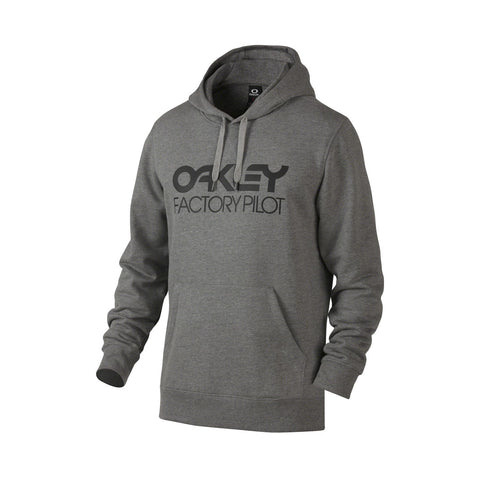 OAKLEY DWR FP P/O HOODIE - ATHLETIC HEATHER GREY