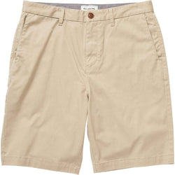 BILLABONG CARTER STRETCH SHORTS - LIGHT KHAKI