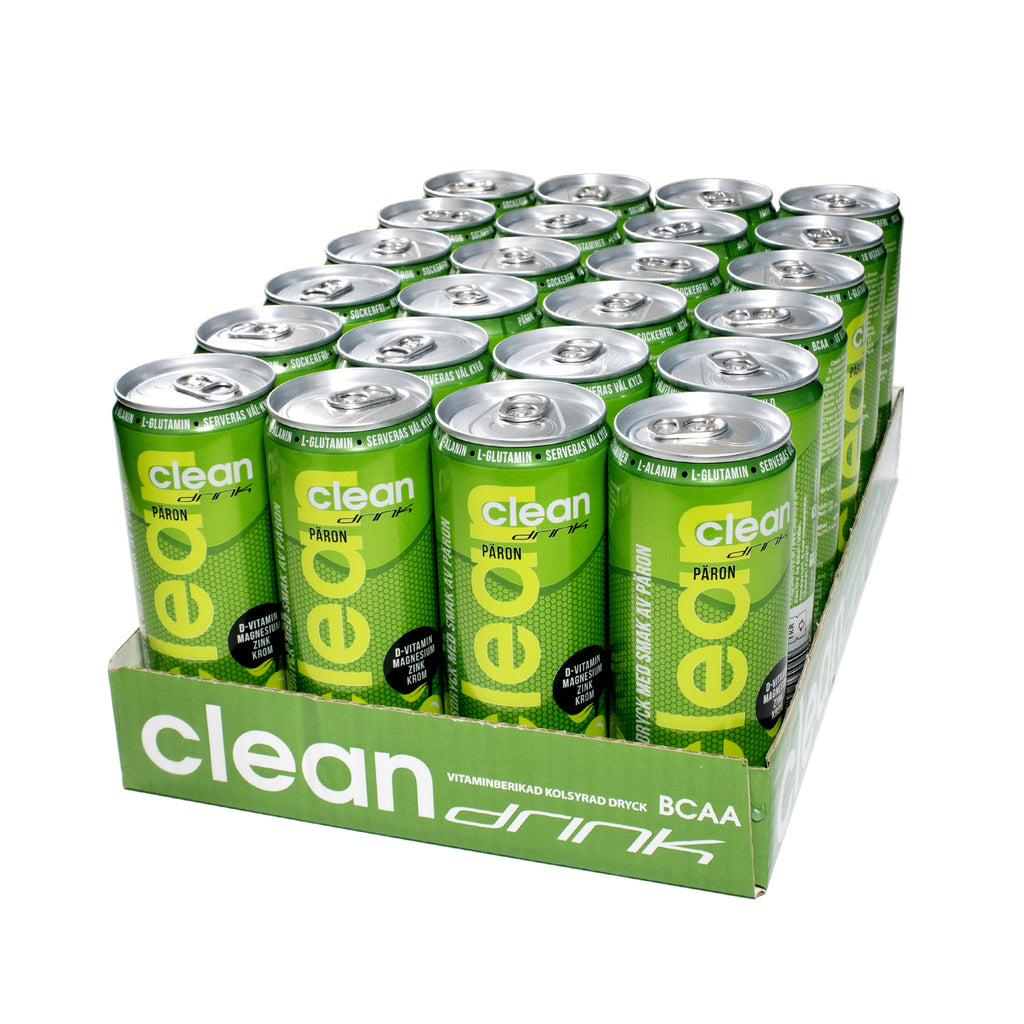 Clean Drink 24 x 330 ml | Päron