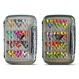144 PIECE TUNGSTEN JIG SET WITH PREMIUM BOX - Kenders Outdoors