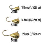 GOLD TUNGSTEN JIG - Kenders Outdoors