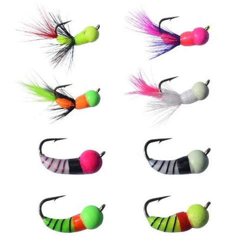 8 PACK - AKUA JIG TUNGSTEN SERIES FLARE AND SKUD - Kenders Outdoors