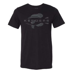 KENDERS GRAPHIC T-SHIRT BLACK/GRAY - Kenders Outdoors