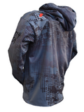 DYE-SUB GRAPHIC HOODIE - CHARKOAL - Kenders Outdoors