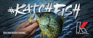 5FT X 2.1FT - 13 OZ VINYL GARAGE BANNER (CRAPPIE) - Kenders Outdoors