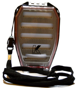 DOUBLE-SIDED FLOATING / WATER-PROOF JIG BOX WITH LANYARD - Kenders Outdoors