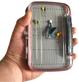 LARGE DOUBLE-SIDED FLOATING / WATER-PROOF JIG BOX - Kenders Outdoors