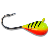 CHARTREUSE TIGER BRIGHT UV TUNGSTEN JIG - Kenders Outdoors