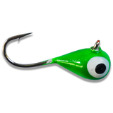 BRIGHT GREEN GLOW TUNGSTEN JIG - Kenders Outdoors