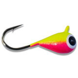CHARTREUSE PINK BRIGHT UV TUNGSTEN JIG - Kenders Outdoors