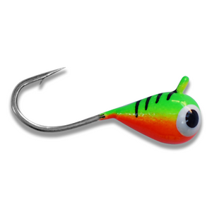 (LARGE HOOK SERIES) FIRETIGER BRIGHT UV TUNGSTEN JIG - Kenders Outdoors