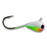 (LARGE HOOK SERIES) CITRUS SLAW BRIGHT UV TUNGSTEN JIG - Kenders Outdoors