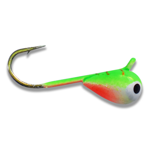 (LARGE HOOK SERIES) MUTANT TURTLE BRIGHT UV TUNGSTEN JIG - Kenders Outdoors