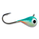 (LARGE HOOK SERIES) DOLPHIN GLOW TUNGSTEN JIG - Kenders Outdoors