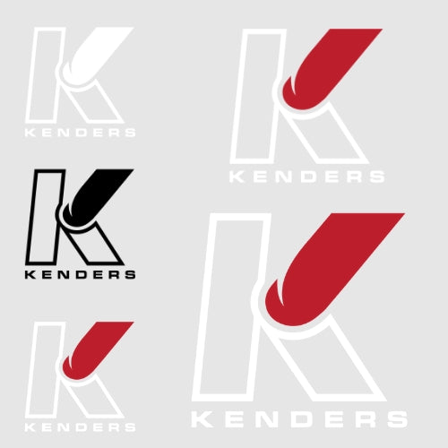 KENDERS DYE CUT DECALS - Kenders Outdoors