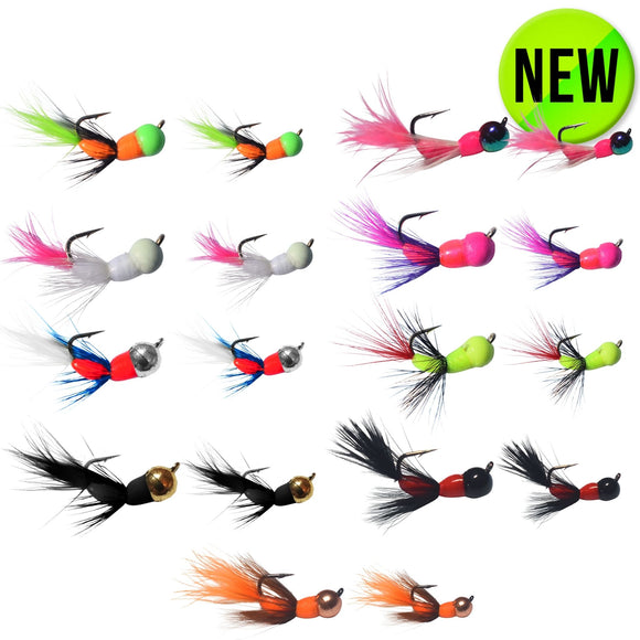 18 PACK - AKUA JIG TUNGSTEN SERIES FLARE