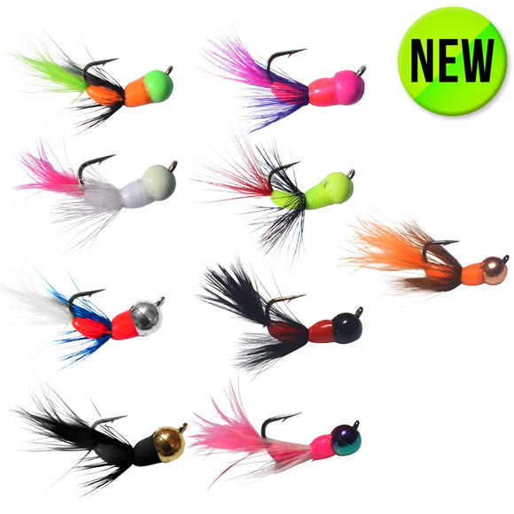 9 PACK - AKUA JIG TUNGSTEN SERIES FLARE