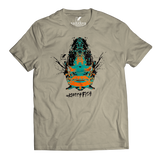 BLUEGILL SPECIES T-SHIRT HEATHER SLATE - Kenders Outdoors