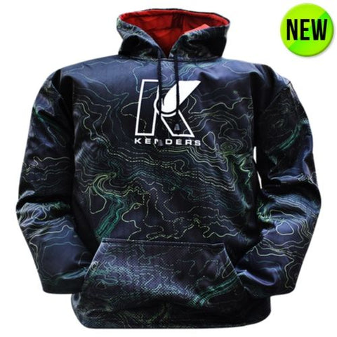DYE-SUB GRAPHIC HOODIE - TRANSITION ZONE - Kenders Outdoors