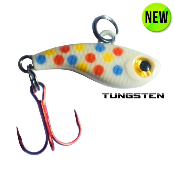 TUNGSTEN T-RIP WONDERBREAD GLOW MINI VIBE BAIT