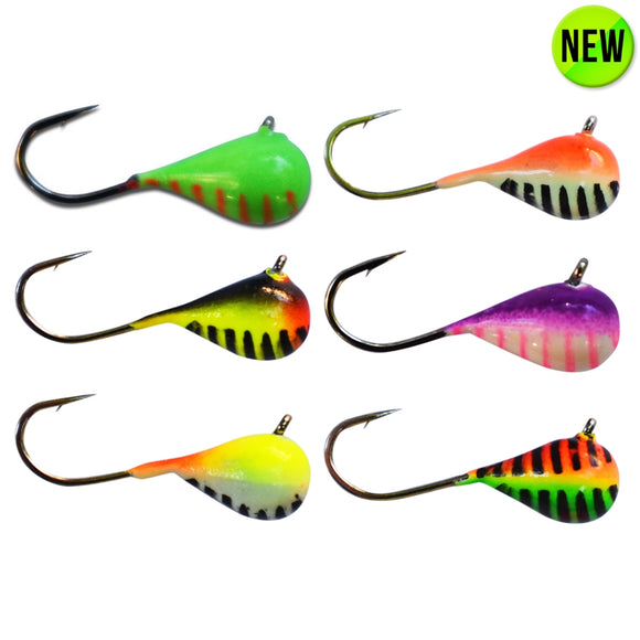6 PACK - STRIPED GLOW ASSORTMENT - Kenders Outdoors
